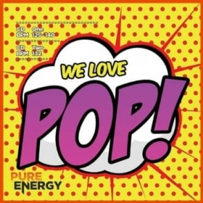We Love Pop! Aerobics Fitness Music CD