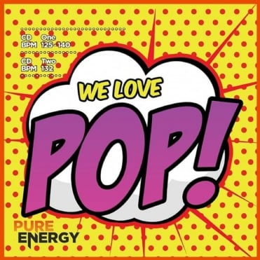 We Love Pop! Aerobics Fitness Music CD