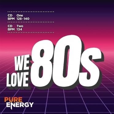 We Love The 80s! Aerobics Fitness Music CD