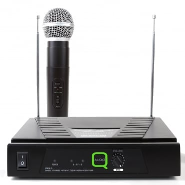 QWM 6 Single Channel VHF Wireless Radio Microphone System