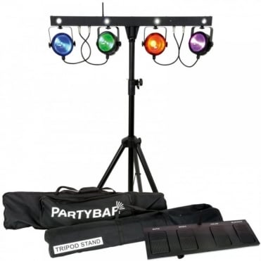 COB Colour Mixing 30w LED Par Can System - Wireless Portable Stage Wash Lighting