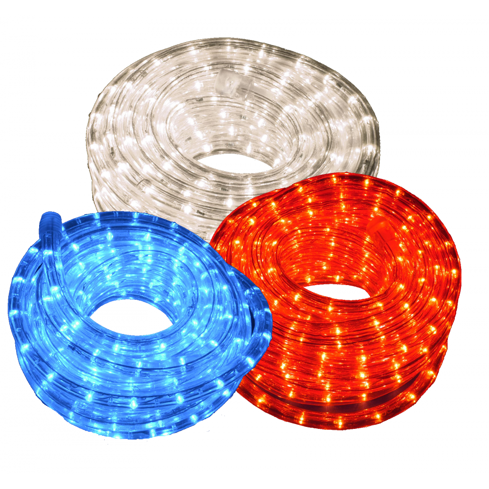 Ip44 outdoor static led rope light ip44 outdoor static led rope light red white and blue versions 10m aloadofball Image collections