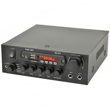 KAD-2BT Digital Stereo Amplifier with Bluetooth 55w Tuner, USB & SD