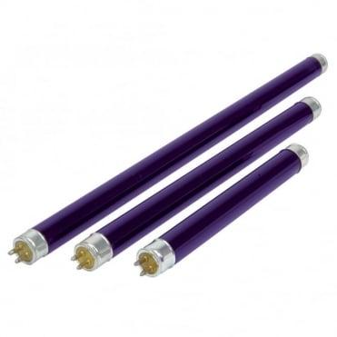 Mini Black Light Tubes 135-288mm Versions F4T5 F6T5 & F8T5 BLB
