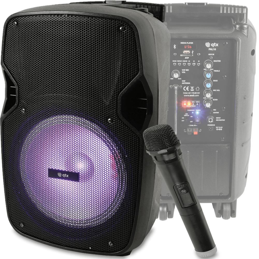 portable speaker with media player