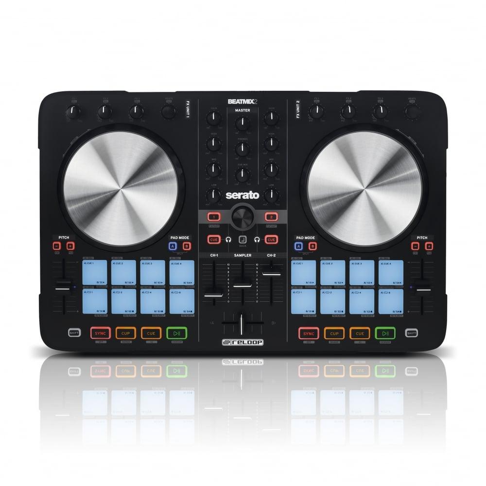 Beatmix 2 Mkii 2 Deck Serato Performance Dj Pad Controller Usb Midi