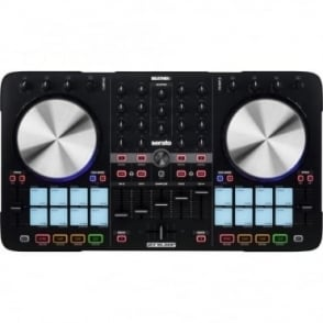 BeatMix 4 MKII 4-Deck SERATO Performance DJ PAD Controller USB/MIDI