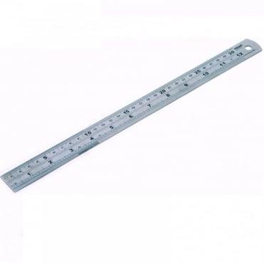 """12"""" / 300mm Stainless Steel Ruler Metric & Imperial Engineers Rule"""