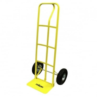 180Kg Capacity P Handle Hand Truck Heavy Duty High With Pneumatic Tyres