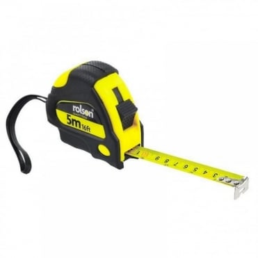 19mm x 5M 16ft Measuring Tape Retractable Measure Locking