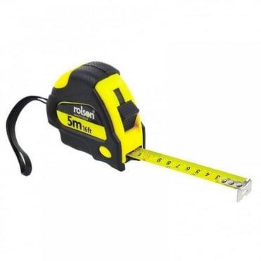 19mm x 5M 16ft Measuring Tape Retractable Measure Locking
