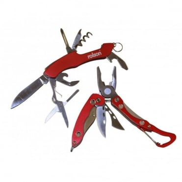 2pc Mini Multi Tool Set inc Saw, Screwdriver, Pliers & Bottle Opener