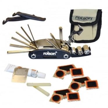 30 In 1 Bike Repair Kit Puncture Maintenance Handy Multi Tool