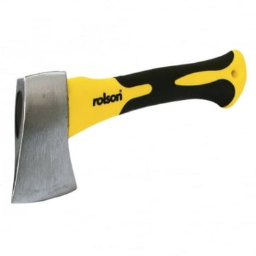 450g Carbon Steel Stubby Camping Axe TPR Handle