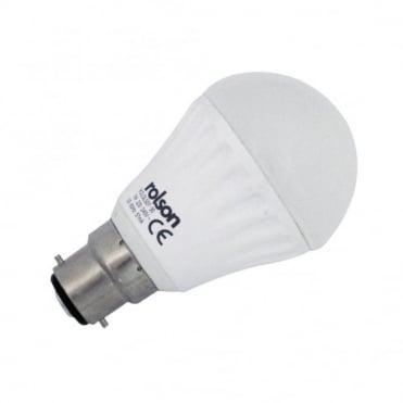 7W GLS LED B22 Beyonet Lamp Warm White 3000K