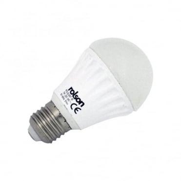 7W GLS LED E27 Screw Lamp Warm White 3000K