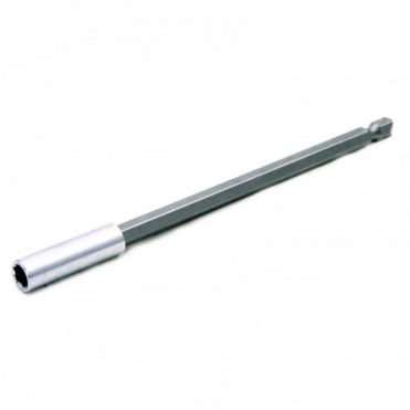 "Alloy Steel Magnetic Bit Holder 150mm Suitable for all 1/4"" Hex Bits"