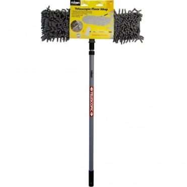 Aluminium Handle Telescopic Floor Mop with Microfibre Multi Angle Head