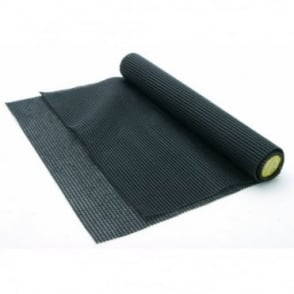 Black Non-Slip Cushion Mat Anti Slip Good Grip Home Car Workplace