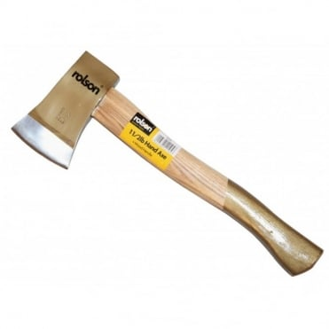 Rolson Wooden Shafted Hand Axe