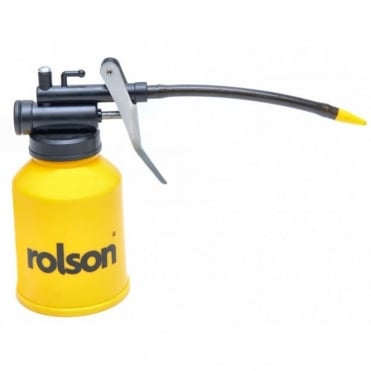 Yellow Rolson 225cc Oil Can Plastic Body High Pressure