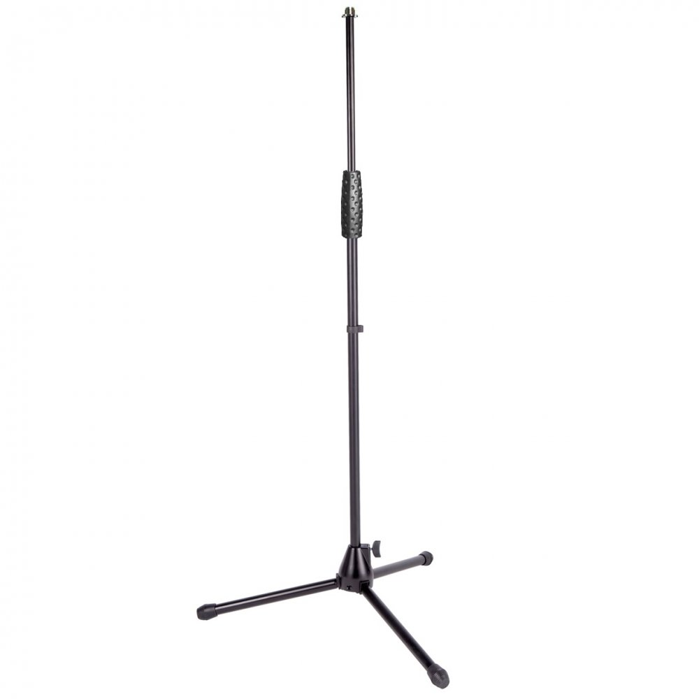 shure straight microphone stand with heavy duty fixings tripod base. Black Bedroom Furniture Sets. Home Design Ideas