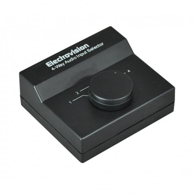 Soundlab 4 Way Stereo Audio Input Selector / Switcher *B Grade*