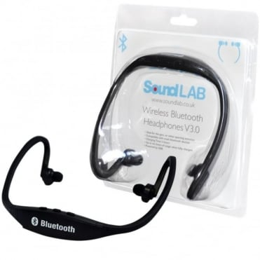 Bluetooth 3.0 Wireless Stereo Aerobic Sport Neckband Style Headset Headphones