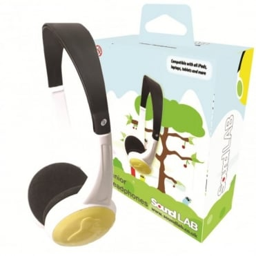 Lightweight Junior Headphones Suitable for ages 5+ Extra Soft Earpads