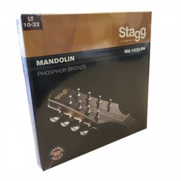 Set of 4 Pairs of Strings for Mandolin or Banjolin Light Guage