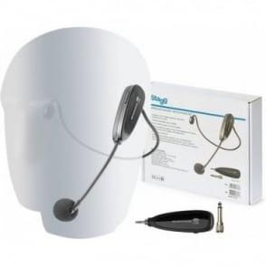SUW 10H Wireless Headset Headband Microphone Aerobic Instructor Presenter Mic
