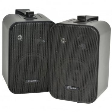 Stereo Background Speakers 30W 8ohm Black and White Versions