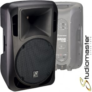Studiomaster Drive 12A 1200W Active Powered Full Range PA Speaker