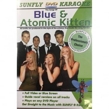 Karaoke DVD Blue Atomic Kitten - Full Video / Blue Options - All Region
