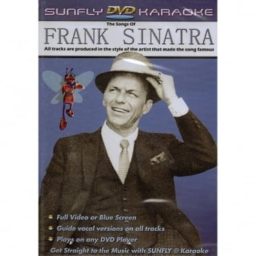 Karaoke DVD Frank Sinatra - Full Video / Blue Options - All Region