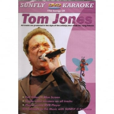 Karaoke DVD Tom Jones - Full Video / Blue Options - All Region
