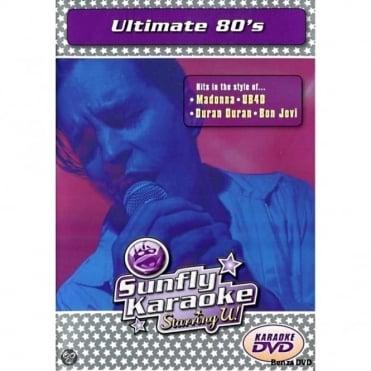 Karaoke DVD Ultimate 80's - Full Video / Blue Options - All Region
