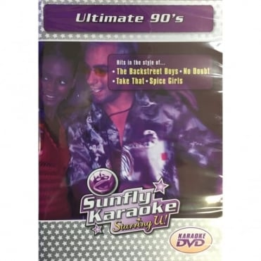 Karaoke DVD Ultimate 90's - Full Video / Blue Options - All Region