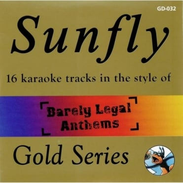 Karaoke Gold CDG CD - Barely Legal Anthems Drug Related Classics CD+G Disc