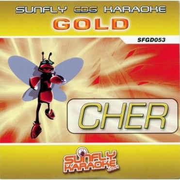 Karaoke Gold CDG CD - Cher Classics CD+G Disc Cherilyn Sarkisian
