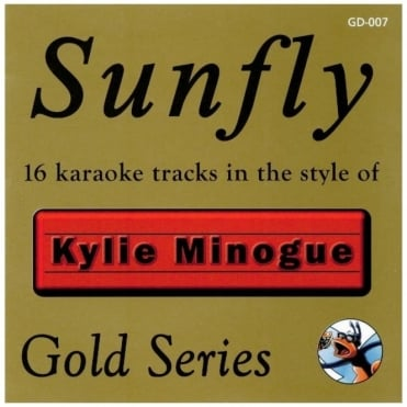 Karaoke Gold CDG CD - Kylie Minogue Classics CD+G Disc