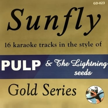 Karaoke Gold CDG CD - PULP & The Lightning Seeds CD+G Disc