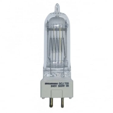 500W GY9.5 T25 High Quality Theatre Lamp