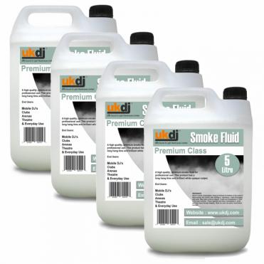 4 x 5L Premium FOG Smoke Fluid 20 Litre
