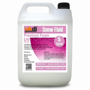 5L Snow Fluid For Artificial Snowflake Effect Machines UV Formula