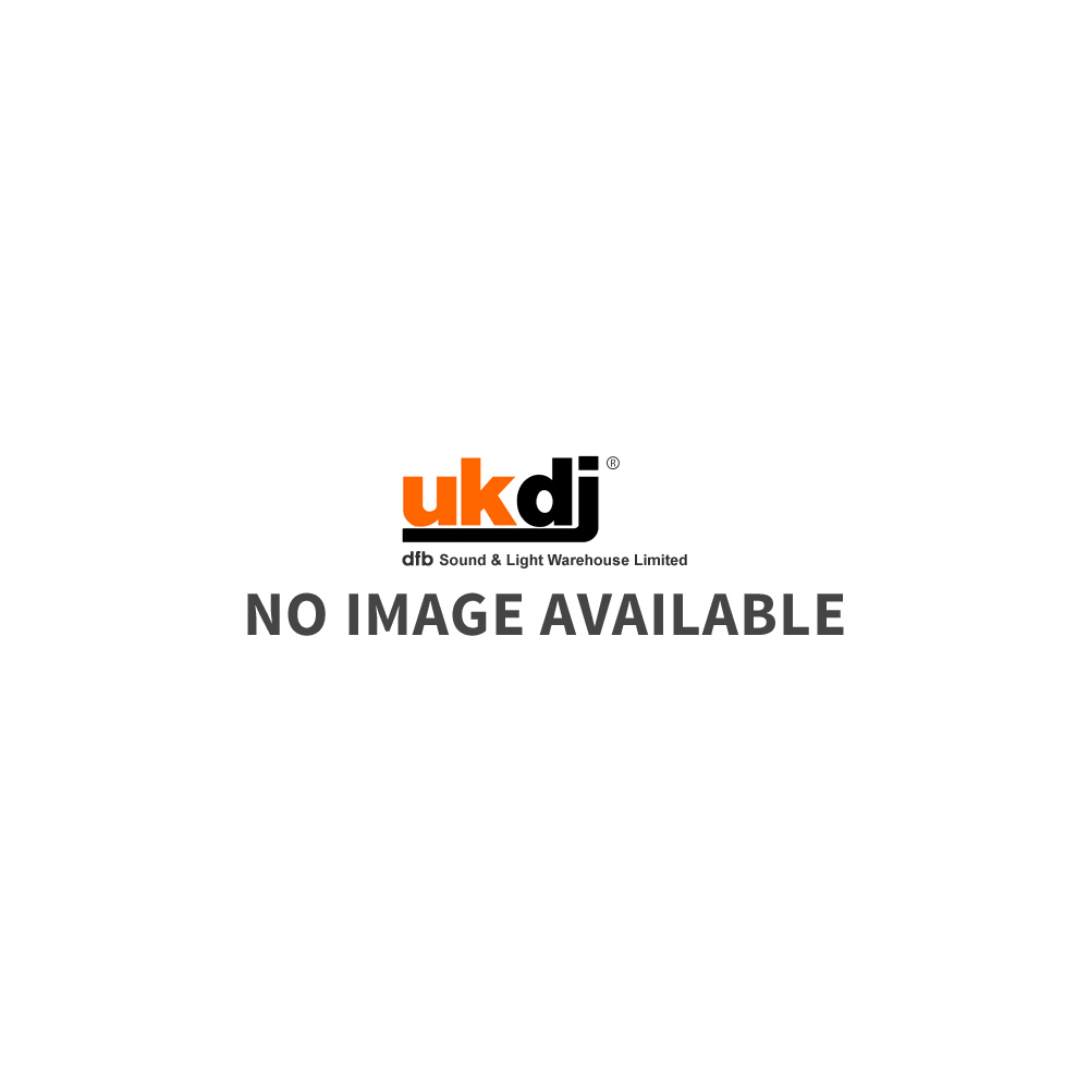 ACT35 Compact Self Powered 50 Watt DJ Black Monitor Speakers (Pair)