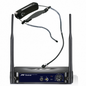 Aerobics Headset UHF Radio Mic System - Wireless Built-in Trasmitter - US-8001DB / UT-16HW