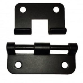 Black Steel Heavy Duty Metal Lift-Off Hinge For Removable Chest Flight Case Lids