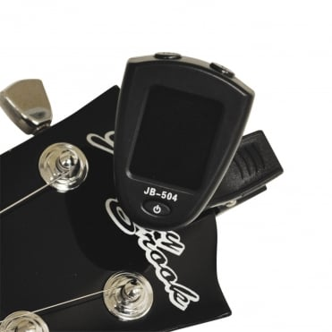 Clip-On Chromatic Tuner Featuring 3 Modes Chromatic, Guitar & Bass