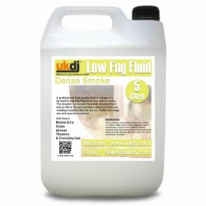 Dense Low Smoke Fluid 5L for Low Smoke ( Dry Ice Effect ) Machines